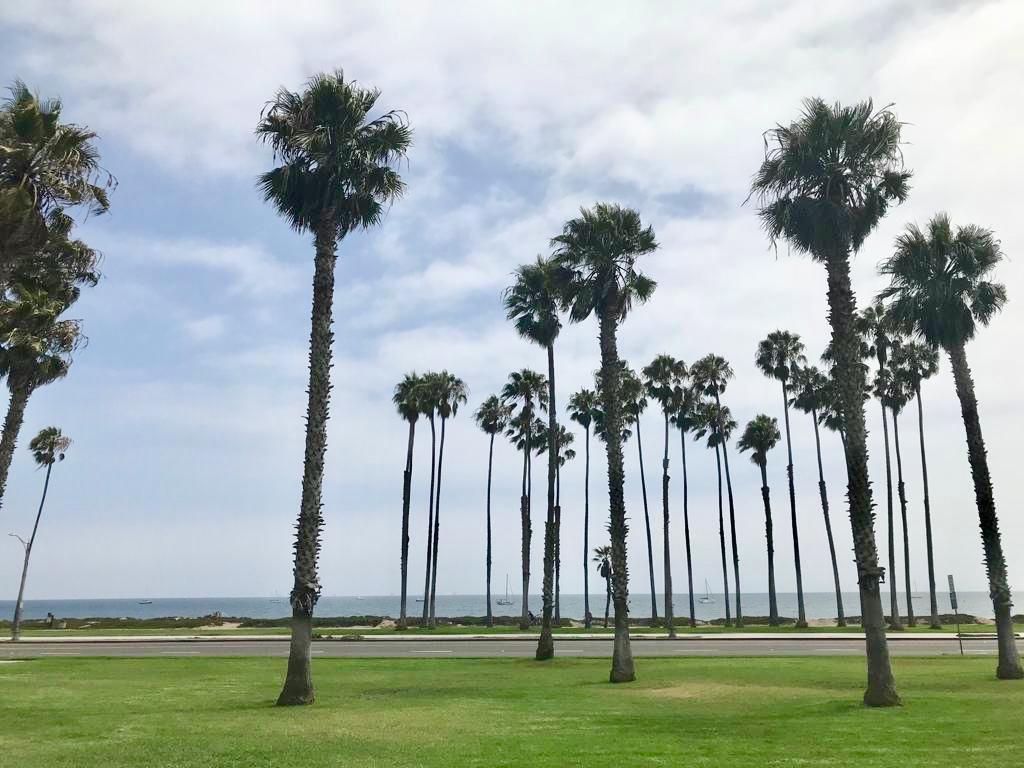 Il lungomare di Santa Barbara