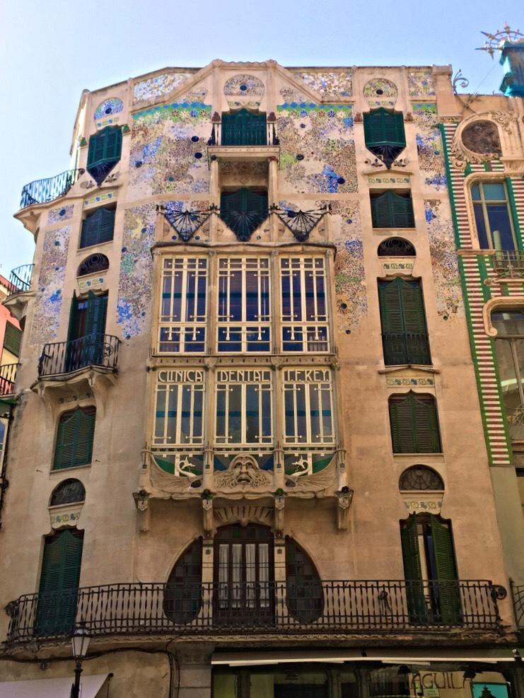 Edificio Forteza Rey a Palma di Maiorca