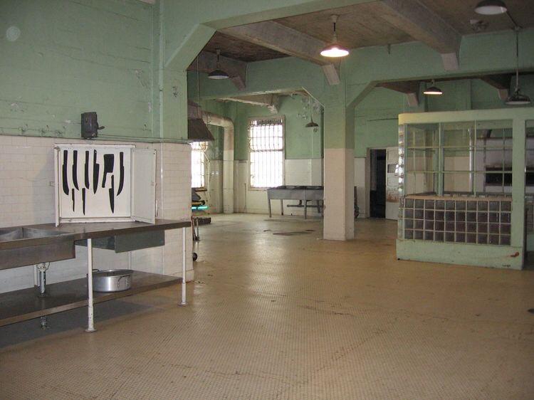Alcatraz, la cucina