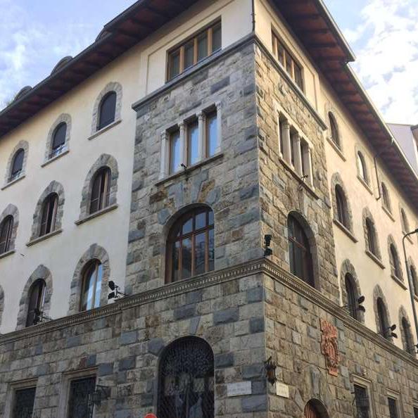 Il palazzo Lisio a Milano