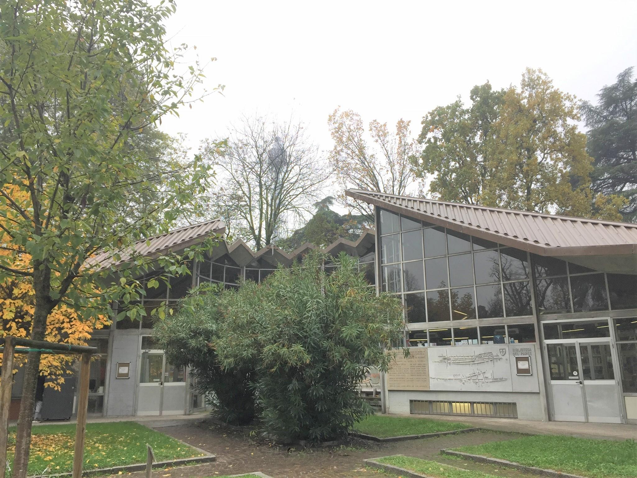 La biblioteca rionale del Parco Sempione
