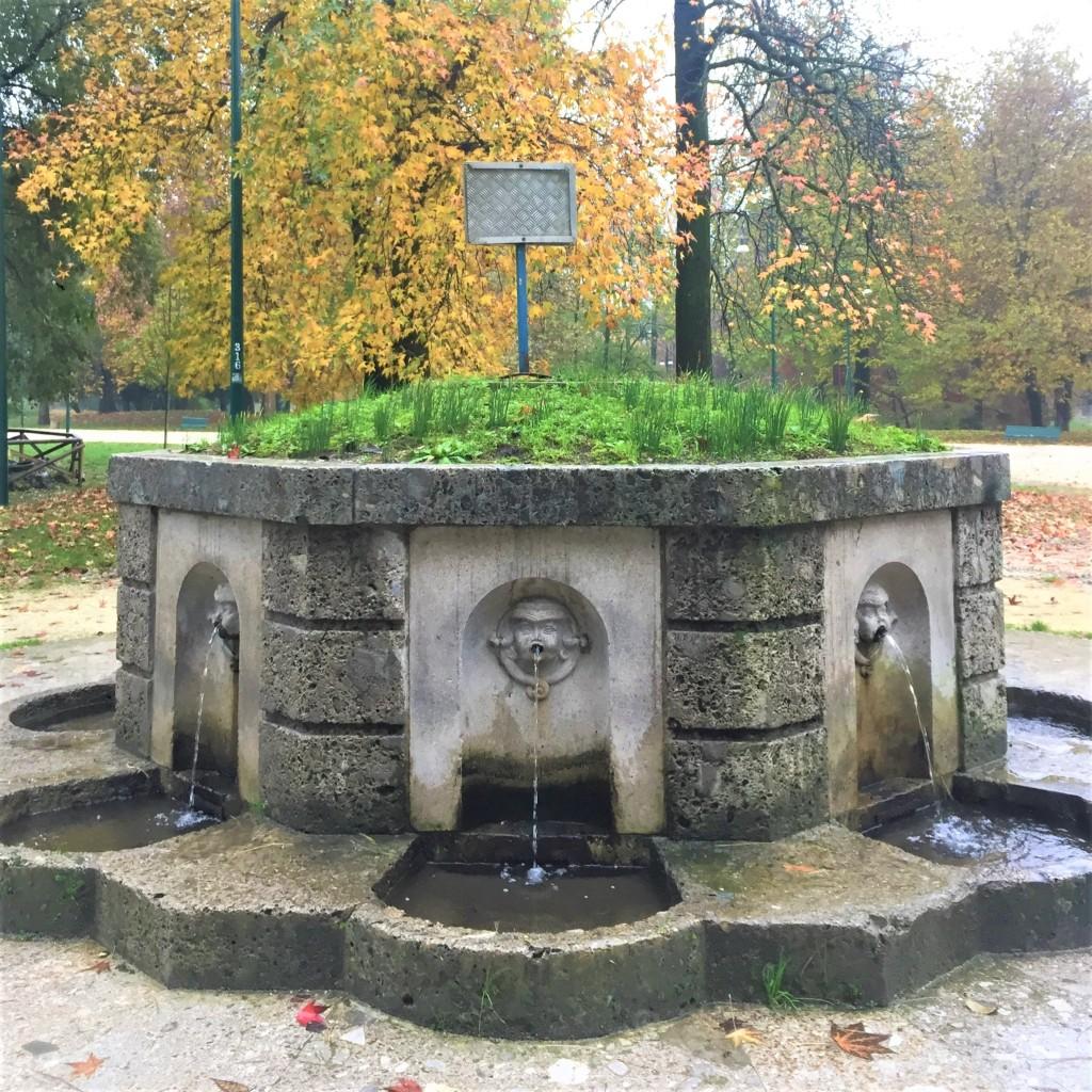 La fonte dell'acqua marcia al Parco Sempione