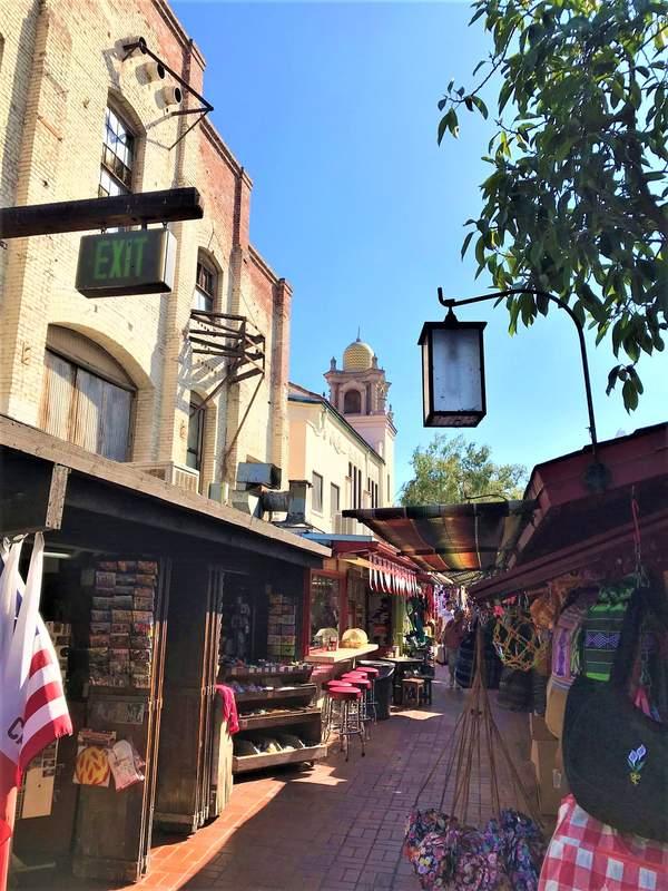 Overa Street, primo nucleo della città di Los Angeles