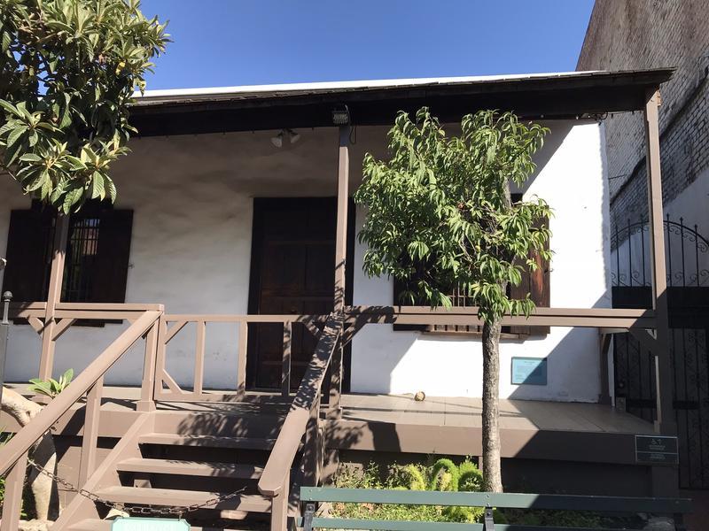 La prima casa costruita sul sito di Los Angeles