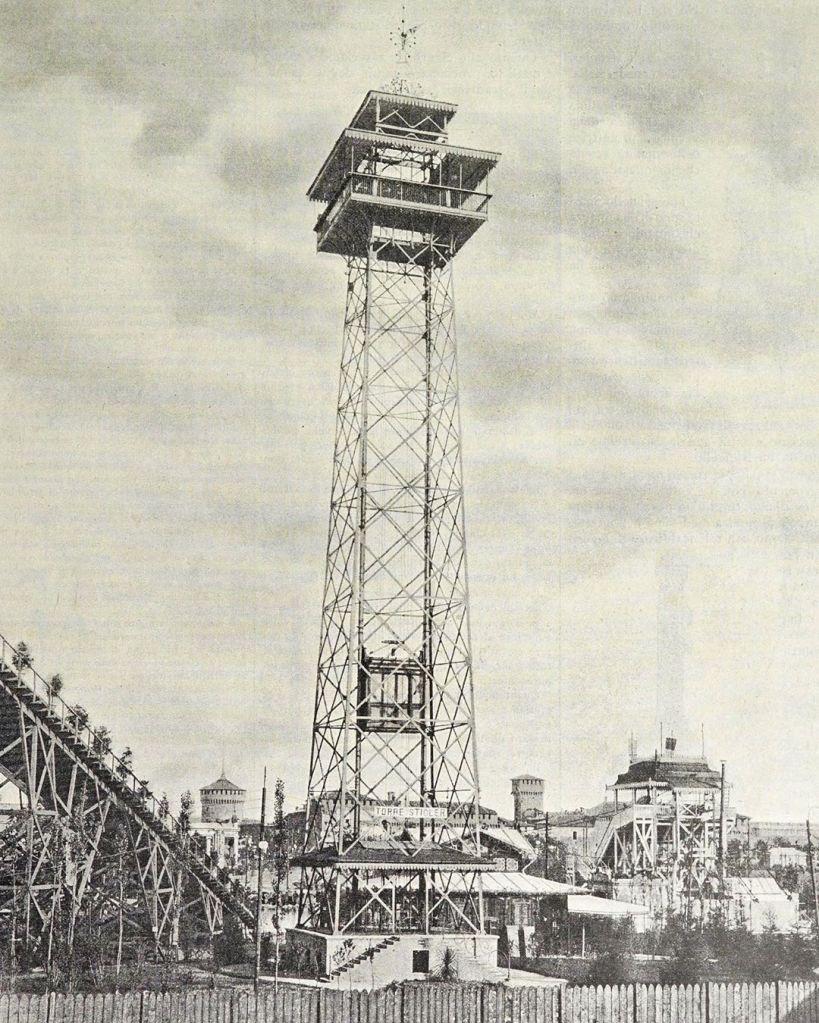 Torre Branca, foto storica