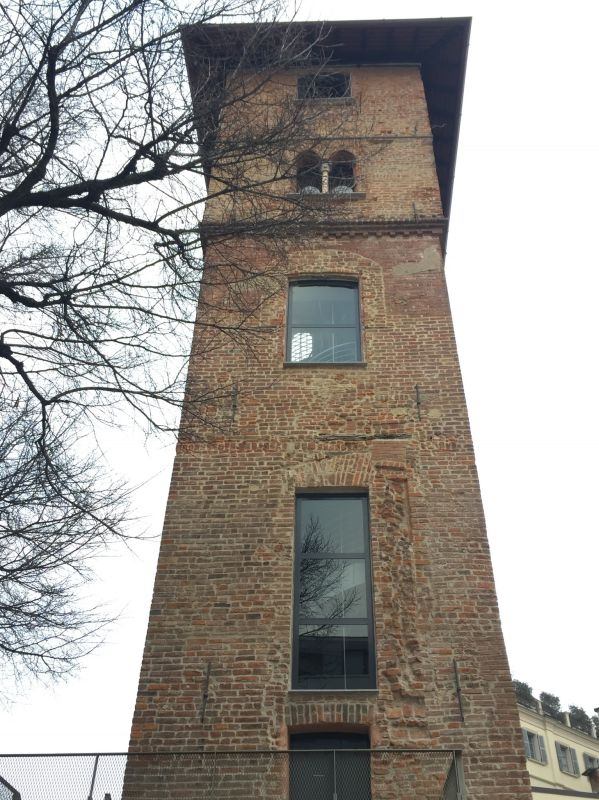la torre dei Gorani restaurata