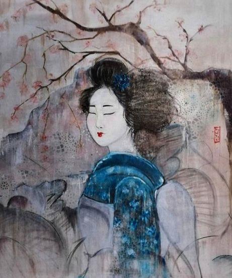 Dada, geisha