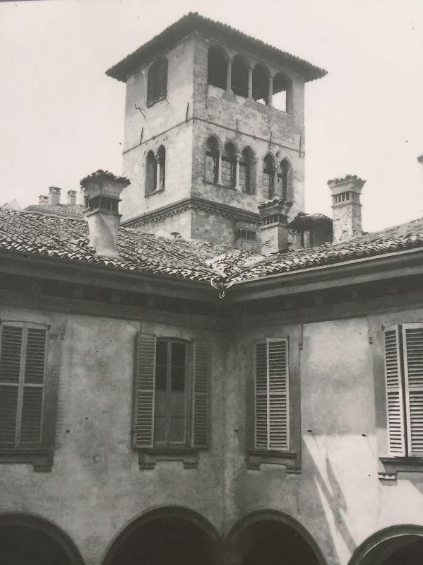 Il palazzo dei Gorani prima dei bombardamenti