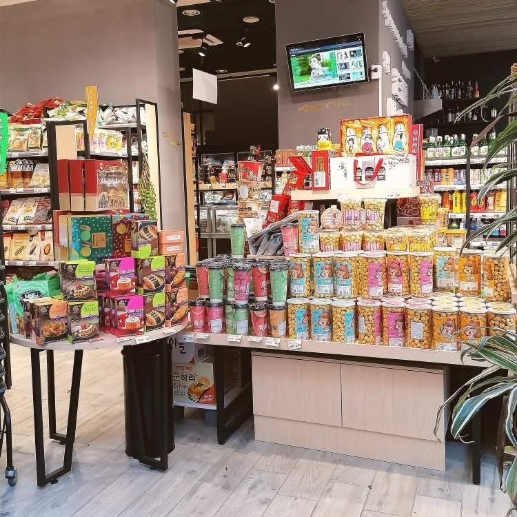 Mini market in via Paolo Sarpi