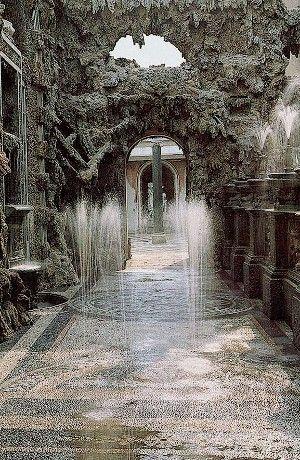 Villa Litta a Lainate, giochi d'acqua nel Ninfeo
