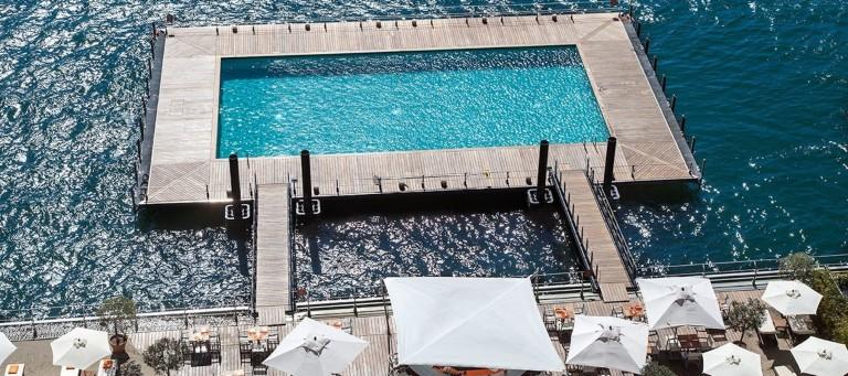 la piscina del grand hotel tremezzo